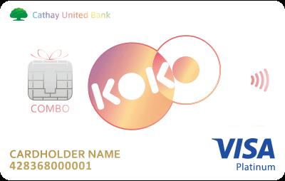 國泰世華銀行- 現金回饋 簽帳卡-數位帳戶